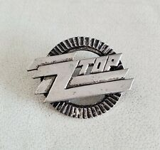 ZZ Top Band  Metal Pin - Logo Badge From The 90's New