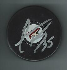 Louis DOMINIGUE Signed PHOENIX ARIZONA COYOTES Puck