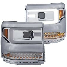 Anzo 111374 Plank Style Headlights for 2016-2018 Silverado 1500 LT LS WT