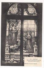 bayeux , vitraux d'une des chapelles de l'ancien séminaire