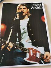 Kurt Cobain, Nirvana, Birthday Card