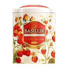 Basilur Herbal Tea with Strawberry, Raspberry, Wolf-berry, Hibiscus and Cherry