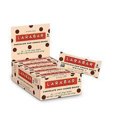 Larabar Gluten Free Bar Chocolate Chip Cookie Dough 1.6 oz Bars... Free Shipping