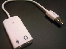 USB: Generic Sound Adapter with Cable built-in