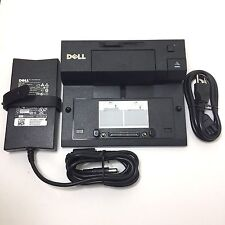 Dell Docking Station E-Port PRO3X replicator USB 3.0+ PA4E Adapter 130Watt