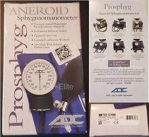 ADC Prosphyg 760 Aneroid Sphygmomanometer Blood Pressure Monitor Adult Large 12
