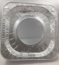 10 pcs Aluminum Foil Square Gas Burner Disposable Bib Liners Stove Covers
