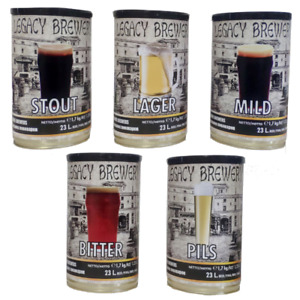 Gozdawa Legacy Brewery 5 styles 23L/40 pints home beer making kit brew refill