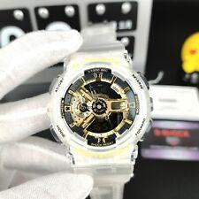 Casio G-Shock Men's Watch White Strap Digital Chronography Watch GA110GB