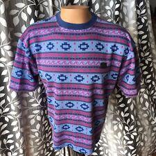 Vintage 90's Billabong T Shirt Boxy Fit Knit Surf Skate USA Made Large