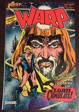 WARP #1 March 1st Series 1983 Premiere Issue First Publishing Comic Book