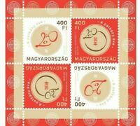 Chinese Horoscope 2020 the year of the rat Hungary stamps registred shipping MNH