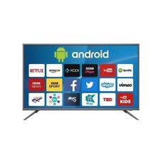 "electriQ 50"" 4K Ultra HD LED Smart TV - Silver (Eiq-SV50UHDT2SM)"