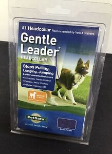 PetSafe Gentle Leader HeadCollar for Medium 25-60lbs Dogs~ Purple NIB