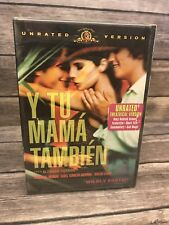 Y Tu Mama Tambien (Dvd, 2002, Unrated Version) Mgm Alfonso Cuaron New Sealed