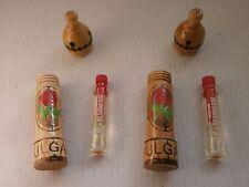 LOT 2 x2,1ml BULGARIAN ROSE OTTO Parfume  PURE ESSENTIAL OIL Rosa Damascen - NEW