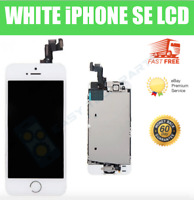 FULL iPhone SE LCD Digitizer Replacement Screen Genuine OEM White A1723 A1662