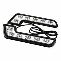 2X 6LED Daytime Running Light DRL Car Day Driving Fog Lamp Bright White DC12V