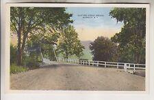 Vintage Postcard - Rexford Street Bridge - Norwich New York