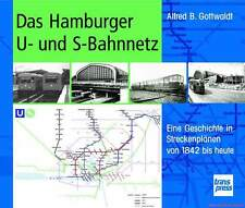 Fachbuch Das Hamburger U- und S-Bahnnetz, Geschichte in Streckenplänen, TOLL NEU