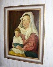 Künstlerische 1950-1999er Malereien aus Holz