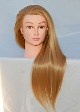 """(US SELLER) 30"""" Cosmetology Mannequin Synthetic Hair Human Head Standard PEGGY"""
