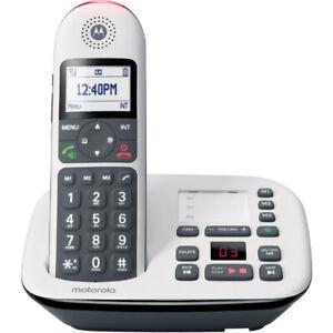 Motorola DECT 6.0 Digital Cordless Telephone w/ Answering Machine & Call Block