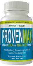 Proven Max Weight Loss Pills Advanced Diet Supplements Loss Keto Burn Capsule...