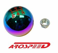 NEOCHROME BILLET ROUND RACING SHIFT KNOB FOR 89-98 NISSAN 240SX KA24DE