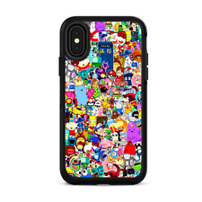 Skins for iPhone X Otterbox Defender Stickers - Sticker collage
