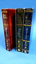 The Lord Of The Rings Trilogy DVD 2005 12 Disc Box Set, Special Extended Edition