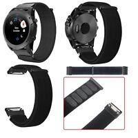 22mm Nylon Uhrenarmband Armband Watch Strap für Garmin fenix5 plus /Approach S60