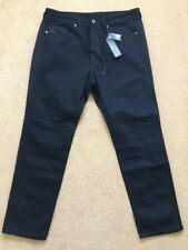 "Diesel Men's D-REY Black Mesh trim Jeans with drawstrings, W32"" / L28"", £150"