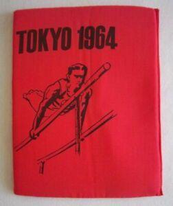 Orig.seat cushion   XVIII. Olympic Games TOKYO 1964  //  31 x 24 cm  !!!  RARITY