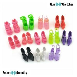 BARBIE DOLLS SIZE CLOTHING 1-36 PAIRS SHOES BOOTS HEELS CHILDREN | UK SELLER