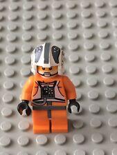 Star Wars LEGO MINIFIG Minifigure sw260 ZEV SENESCA REBEL PILOT 8083!