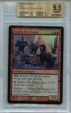 MTG Rakdos Pit Dragon BGS 9.5 Gem Mint Magic card foil Dissension Amricons 3901