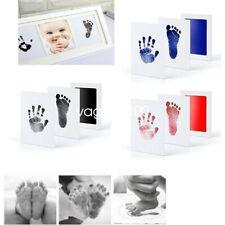 Inkless Wipe Hand & Foot Print Kit - Newborn, Baby, Child Safe Christmas Gift