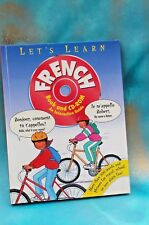 Let's Learn French Picture Book + CD-Rom, New FREE SHIPPING!