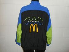 Vintage 1995 NASCAR Bill Elliott McDonald's Batman Forever Windbreaker Jacket L