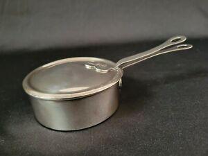 Vintage Tiffany & Co. Silver Soldered Lidded Butter Dish ~ Mission Arts & Crafts