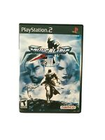 Soul Calibur III (3) Playstation 2 (PS2) - Case and Manual ONLY -NO Game
