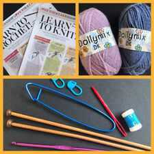 Beginners Learn to Crochet and Knit Kit