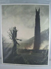 Loot Crate Lord Of The Rings Art Print, Merry Pippen Treebeard Isengard Aug 2017
