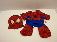 Build A Bear Spiderman Two Piece Outfit - Mask and Suit