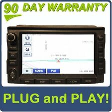 Hyundai AZERA OEM LG GPS NAVIGATION CD DVD MP3 Player XM Radio GREY LAN-8672NH1