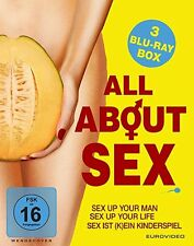 3 Blu-rays * ALL ABOUT SEX  # NEU OVP %