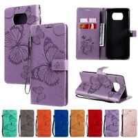 Handyhülle Für Xiaomi Poco X3 NFC Leder Hülle Flip Case Schutz Cover Brieftasche