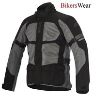 Alpinestars Santa Fe Drystar Air Motorcycle Jacket Touring WP Dark Grey was £299