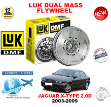 FOR JAGUAR X TYPE 2003-2009 ORIGINAL LUK DMF DUAL MASS FLYWHEEL 2.0 D 130 bhp